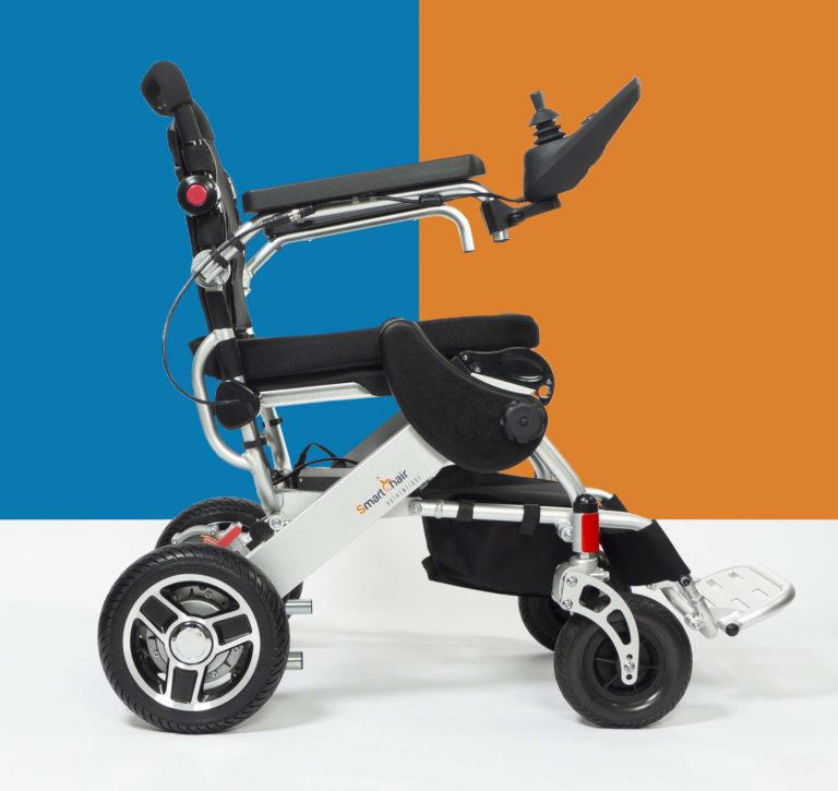 SmartChair Mixte, fauteuil roulant pliable léger et transportable