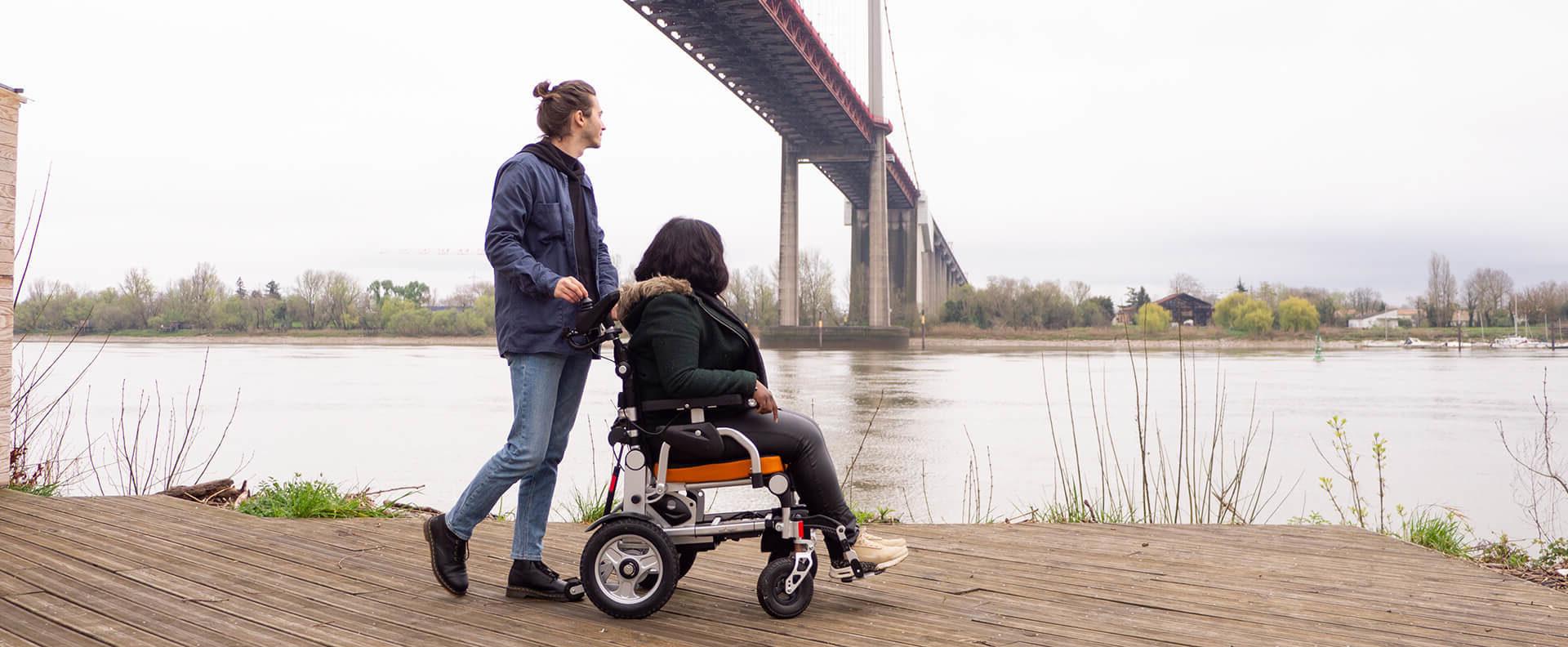Découvrez les fauteuils roulants électriques SmartChair